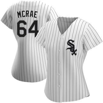 Women's Alex McRae Chicago White Replica Home Baseball Jersey (Unsigned No Brands/Logos)